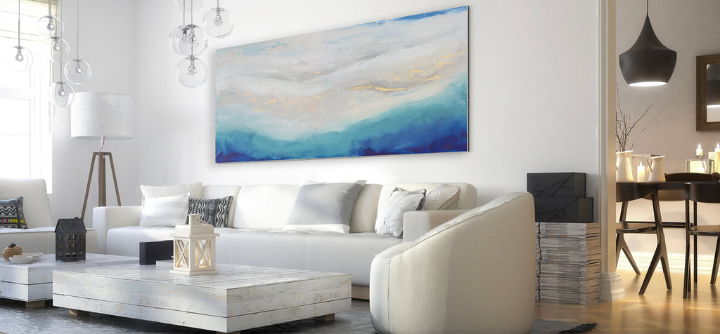 Go Big And Go Bold Using Statement Art In Your Home Julia