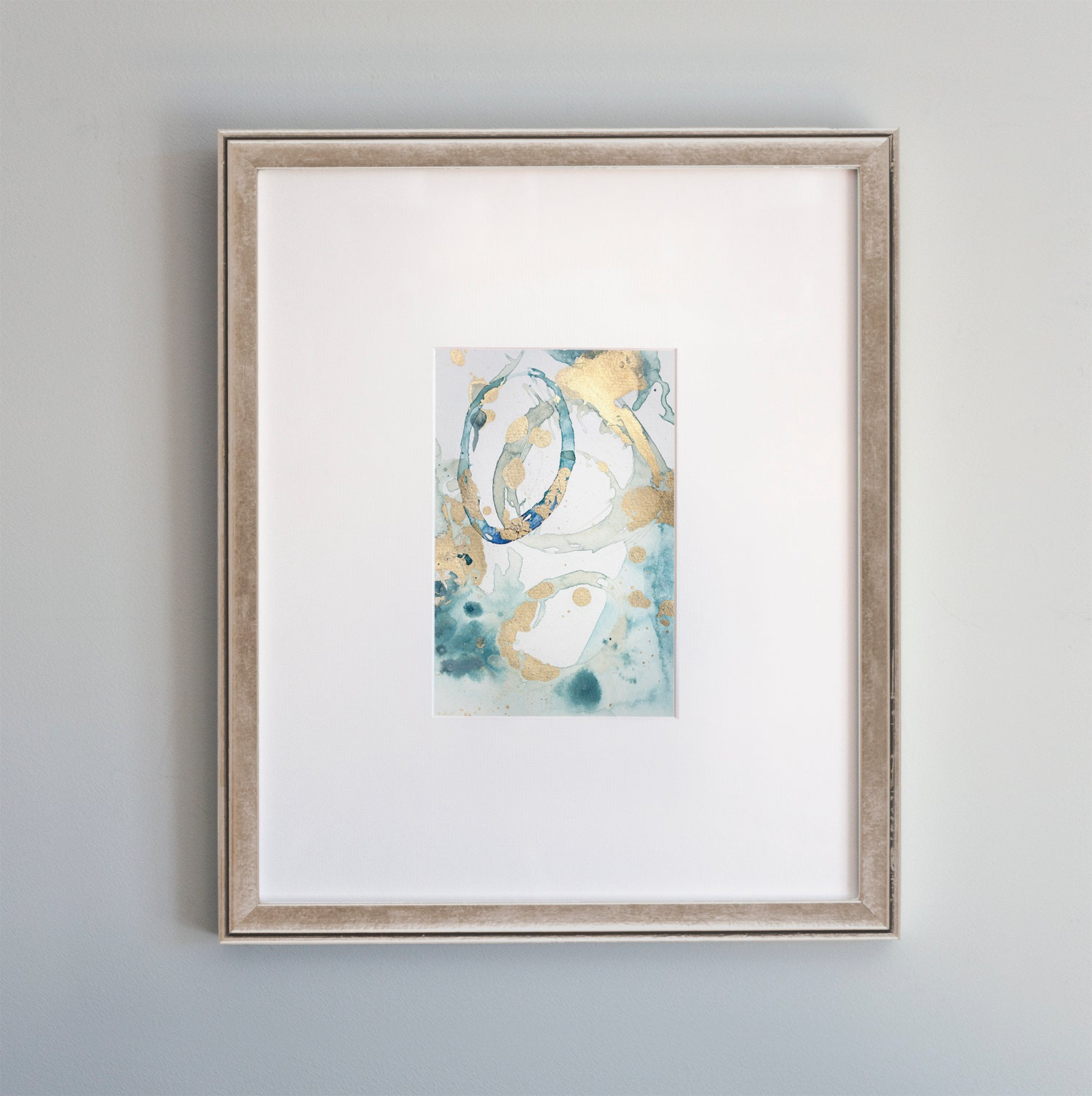 Original painting Enchantment No. 1 by Julia Contacessi - metallic frame option