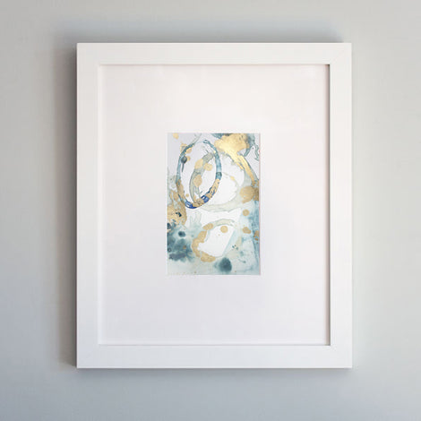 Original painting Enchantment No. 1 by Julia Contacessi - white frame option