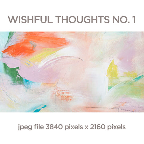 Wishful Thoughts No. 1 - Digital Download