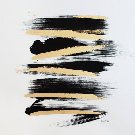Zen Brush No. 5 - Embellished Print
