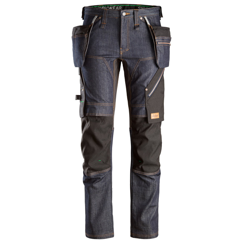 6955 FlexiWork Denim Werkbroek+