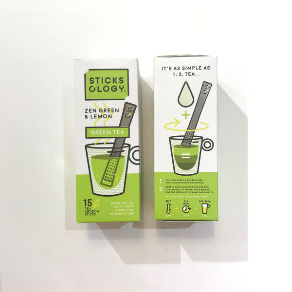T-Sticks Zen Green & Lemon Tea