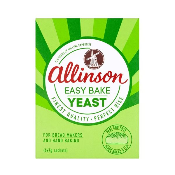 Allinson Easybake Yeast 2x7g 24 Pack