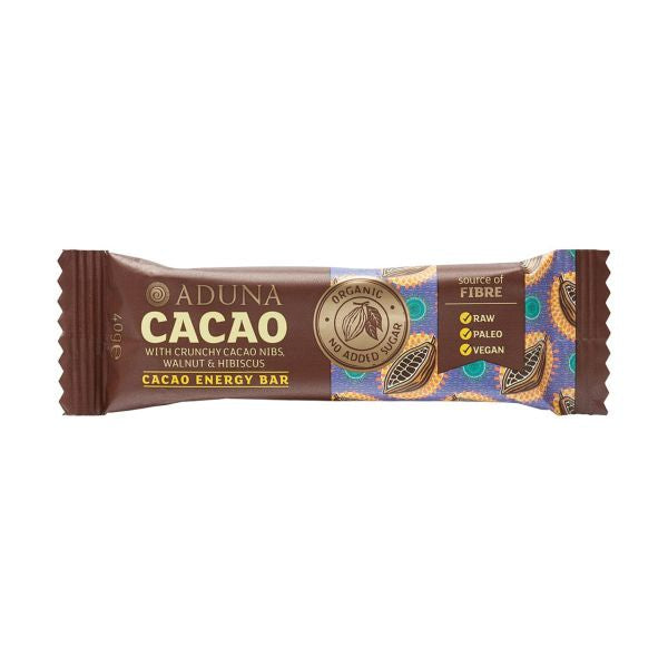 Aduna Cacao Energy Bar x 16 pack