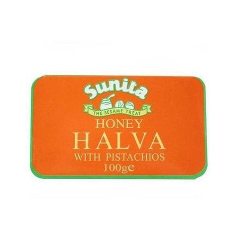 Sunita Halva Pistachio (Honey) No added sugar 75g
