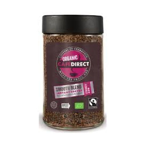 Cafe Direct - Fair Trade Organic Smooth Instant Coffee 100g