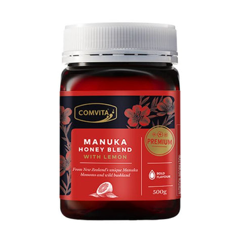 Comvita Products Manuka Honey With Lemon