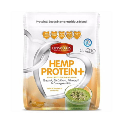 Linwoods Hemp Protein + Flax Bio Cultures Vitamin D Co-Q10