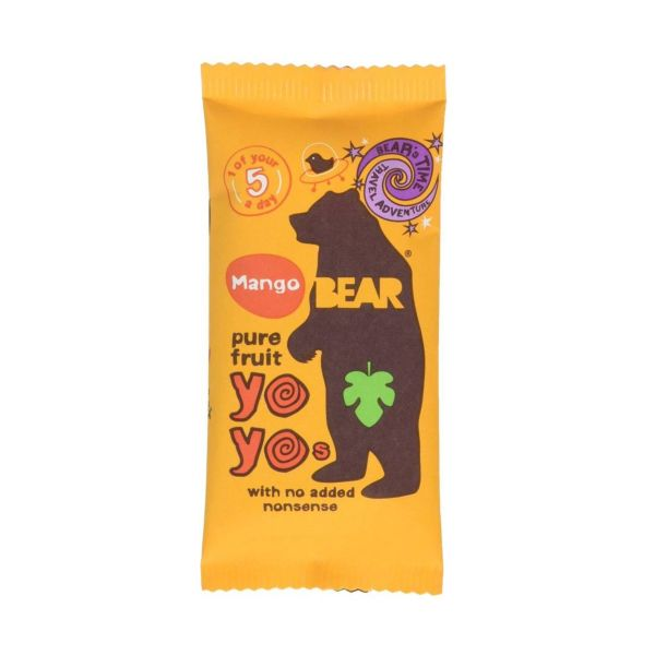Bear Yoyo Mango Single x 18 pack