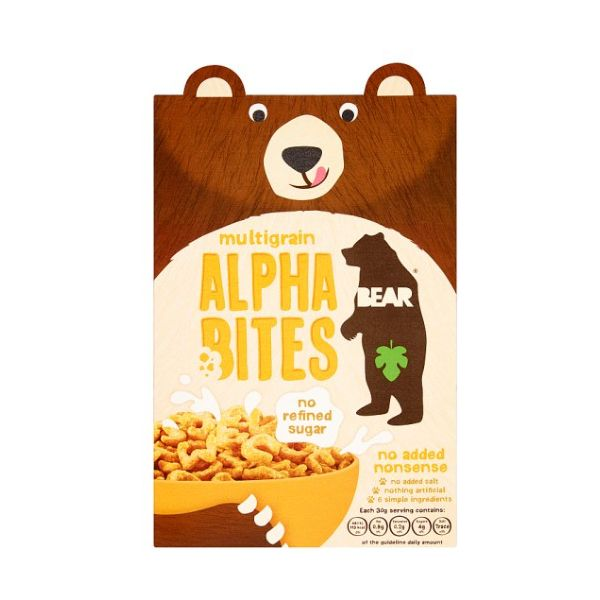Bear Alphabites Multigrain x 4 pack