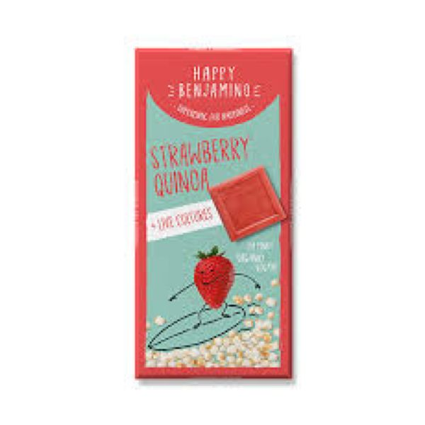 Happy Benjamino Happy Benjamino Strawberry Quinoa 70g  x 10