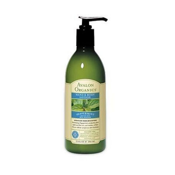 Avalon Organic Peppermint Hand & Body Lotion