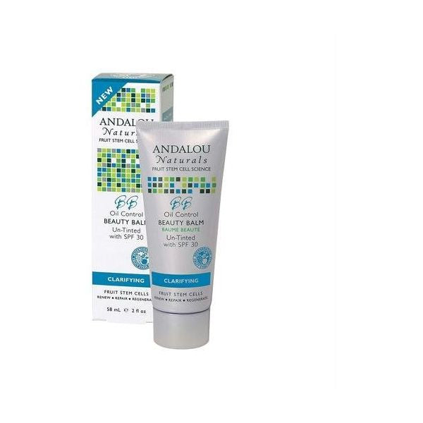 Andalou Naturals Argan Stem Cell BB Benefit Balm Un-Tinted SPF30