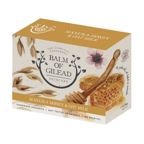 Balm Of Gilead Skincare Manuka Honey & Oat Soap
