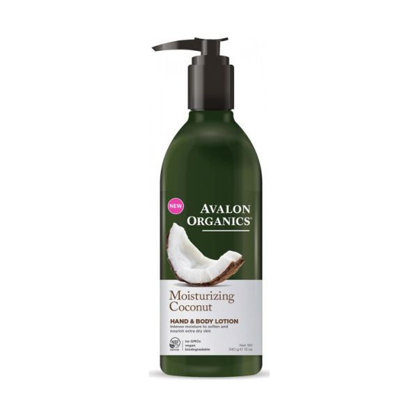 Avalon Coconut Moist H&B Lotion