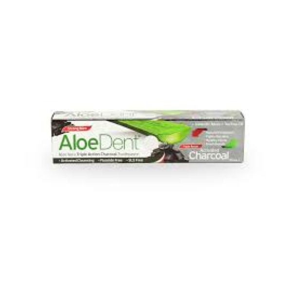 Aloe Dent Charcoal Toothpaste