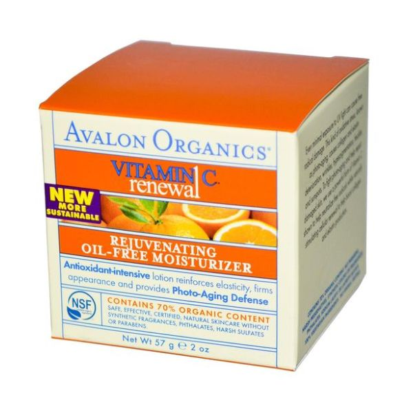 Avalon Organic Vitamin C Organic Rejuvenating Moisturiser 50ml