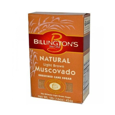 Billingtons Sugar Raw Muscovado - Light Sugar 500g