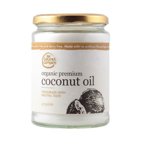 Coconut Company Organic Premium Coconut Oil 475ml