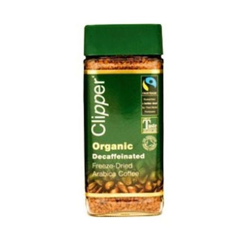 Clipper Organic Decaffeinated Freeze Dried Instant Coffee FT 100g