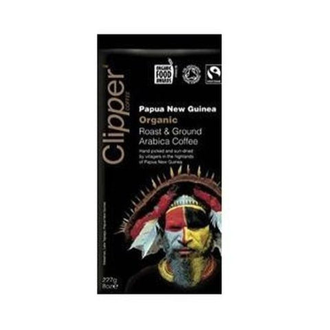 Clipper Organic Papua New Guinea Ground Coffee 227g