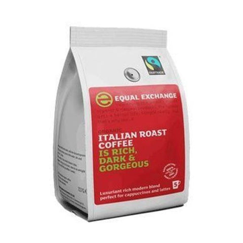 Equal Exchange Organic Italian R&G Coffee Fairtrade 227g