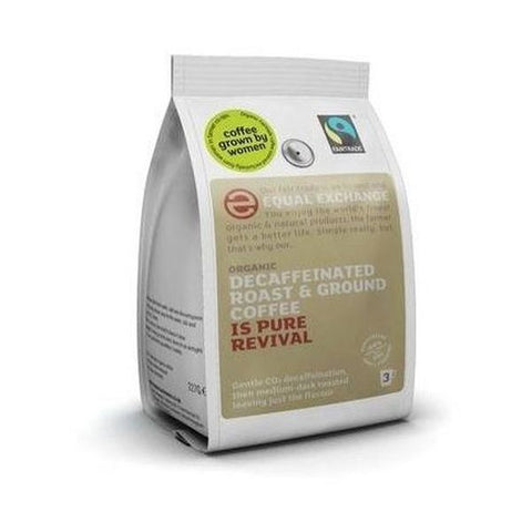 Equal Exchange Organic & Fairtrade Decaf Roast And Ground Coffee 227g