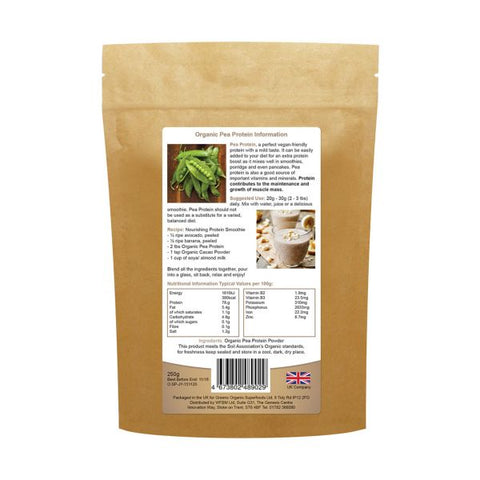 Golden Greens Organic Organic Pea Protein Powder