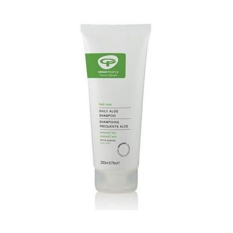 Green People Organic Daily Aloe Shampoo 200ml