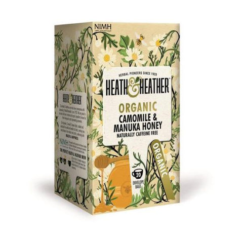 Heath & Heather Organic Chamomile & Manuka Honey