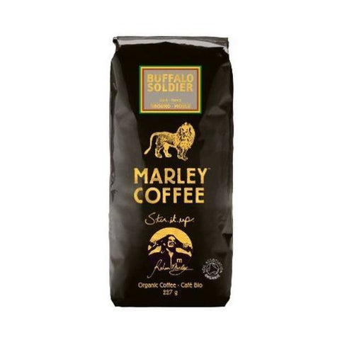 Marley Coffee Buffalo Soldier Dark Roast Ground Coffee for All Coffee Make 227g