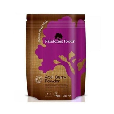 Organic Acai Berry Powder 125g