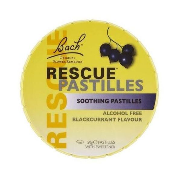 Bach Rescue Remedy Rescue Remedy Pastilles - Blackcurrent