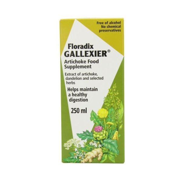 Gallexier Artichoke Food Suppl 250ml