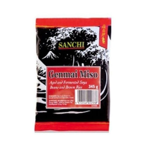 Sanchi Japanese Range Brown Rice Genmai Miso 345g