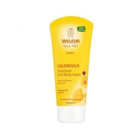 Calendula Shampoo & Body Wash 200ml