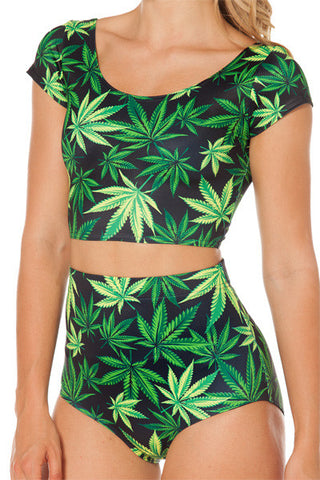 """Medically Necessary"" 2 Piece Bathing Suit"