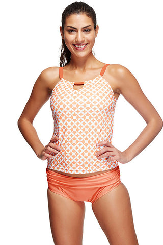 Artisan Removable Padded Layered Trendy Bathing Suits