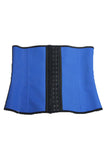 Ultra Workout Thermal Blue Waist Shaper (9 Steel Boned)