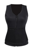 Workout Thermal Body Vest With Belt