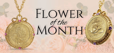 Flower of the Month Necklaces