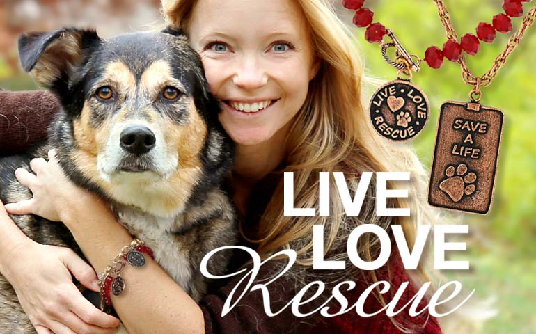 1928 Jewelry Live Love Rescue Collection