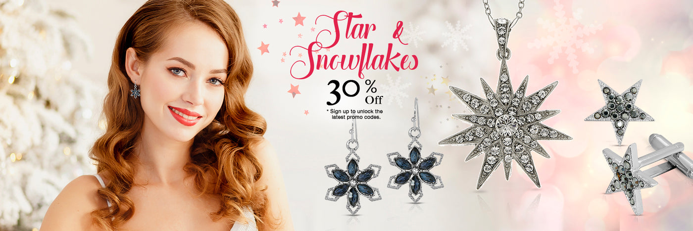 Star Jewelry & Snowflakes