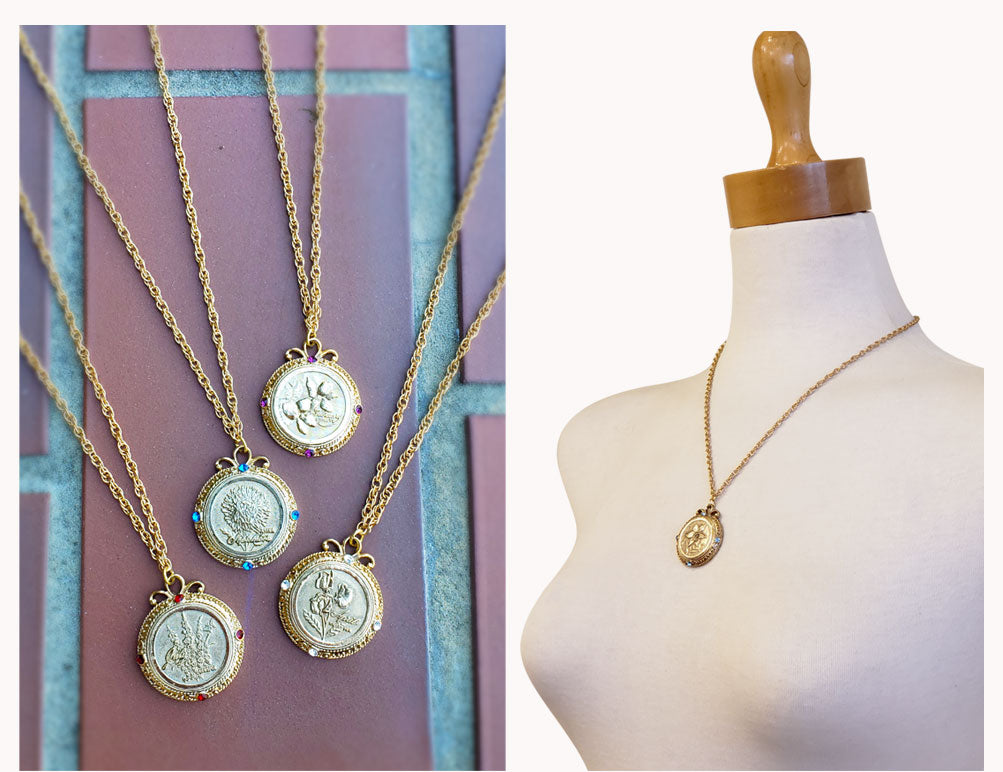 flower of the month pendants