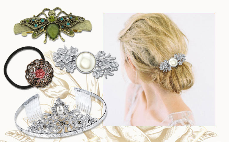 1928 Jewelry Hair Accessories