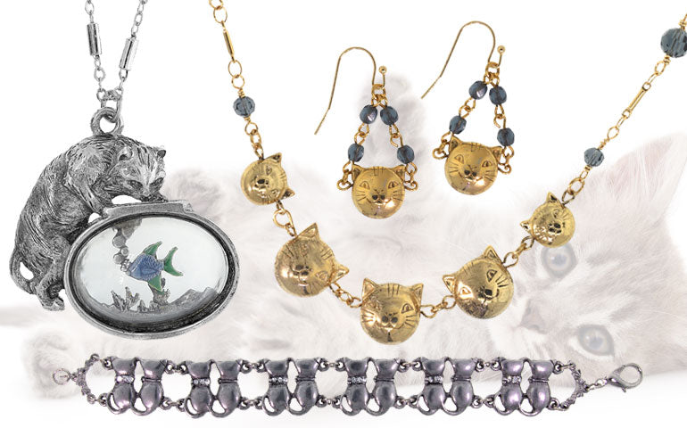 1928 Jewelry - Cat Collection