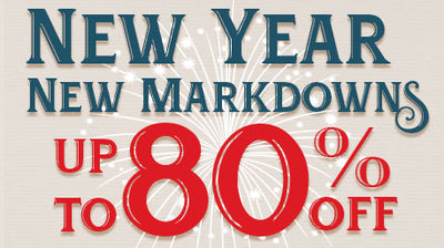 New Year New Markdowns