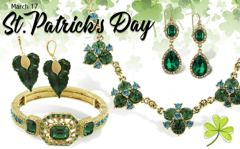 1928 Jewelry St Patrick's Collection