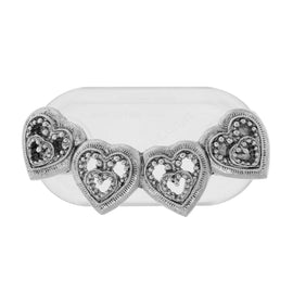 Magcessory Pewter Hearts Magnetic Eyeglass Holder